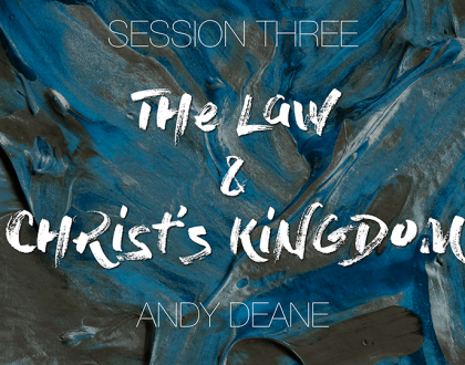 Session 03 - Andy Deane